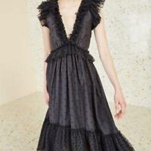 Ulla Johnson Noir dress Sz 4